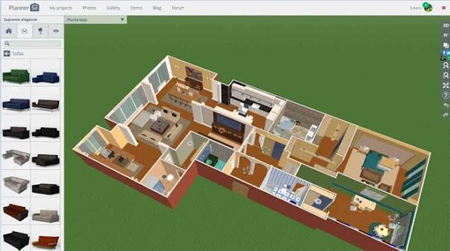 5 phần mềm thiết kế nội thất và nhà miễn phí cho người mới bắt đầu