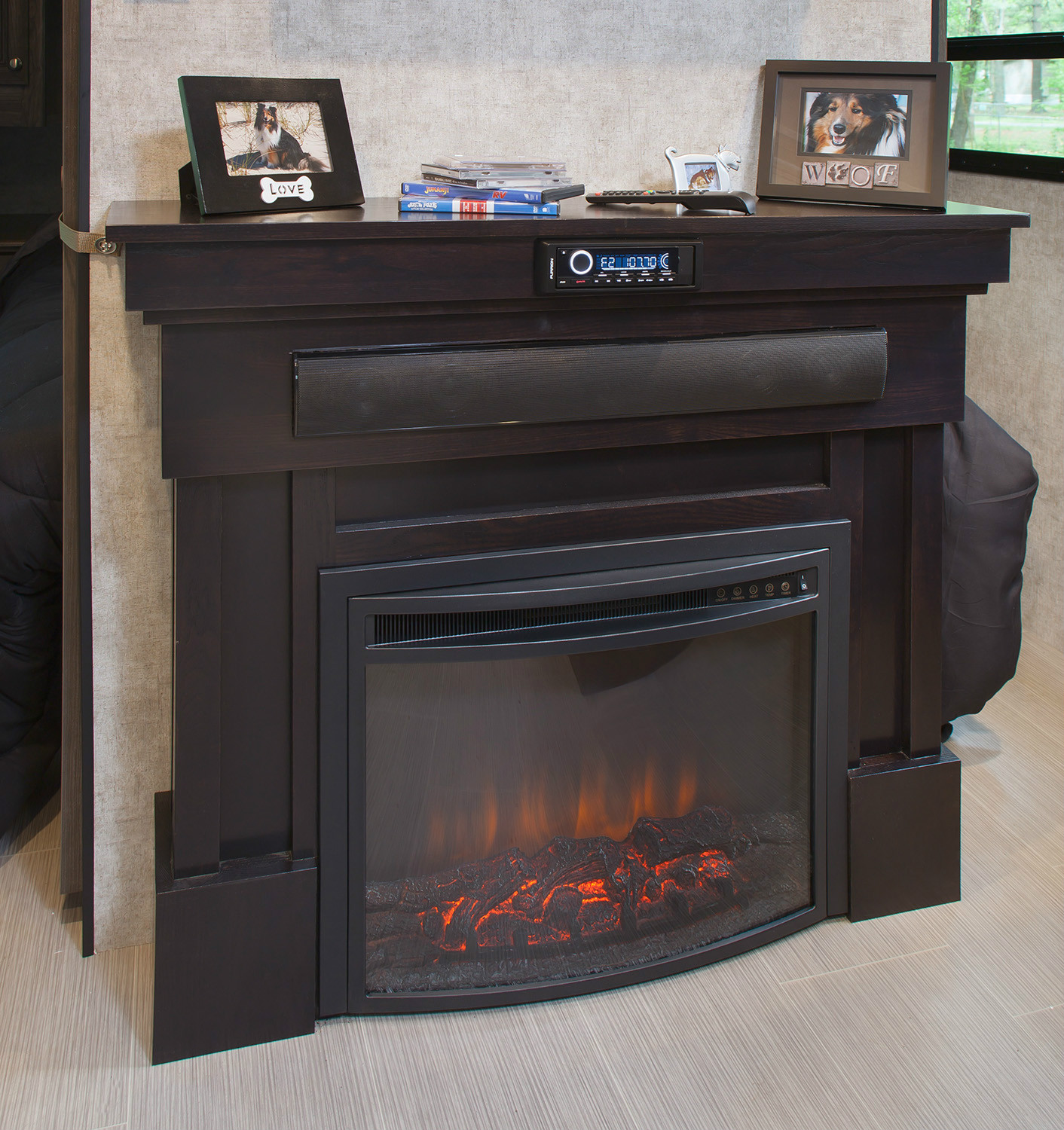 Curved Electric Fireplace Electric Fireplace Heater 23