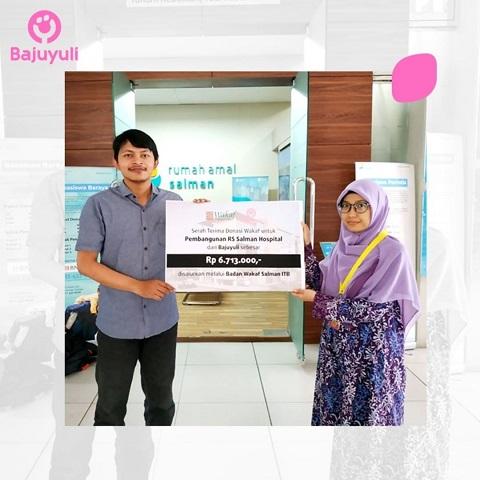 Charity Bajuyuli: Pembangunan Rumah Sakit Salman