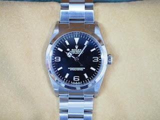 ロレックスの腕時計を買取ました 114270 EX1