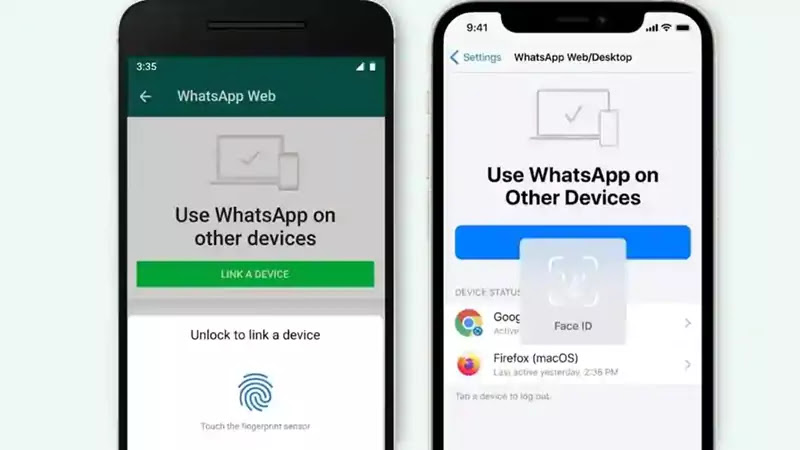 WhatsApp now requires biometric authentication for web and desktop users