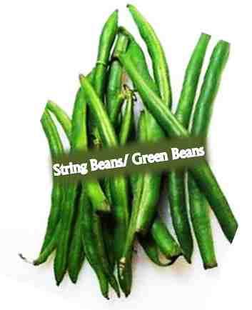 "String beans/Green Beans for ""Diabetes"""