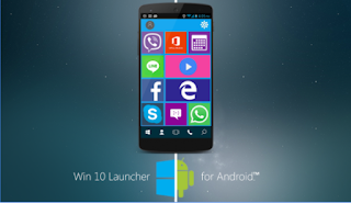 Windows 10 Launcher For Android Apk - Free Download Theme Smartphone