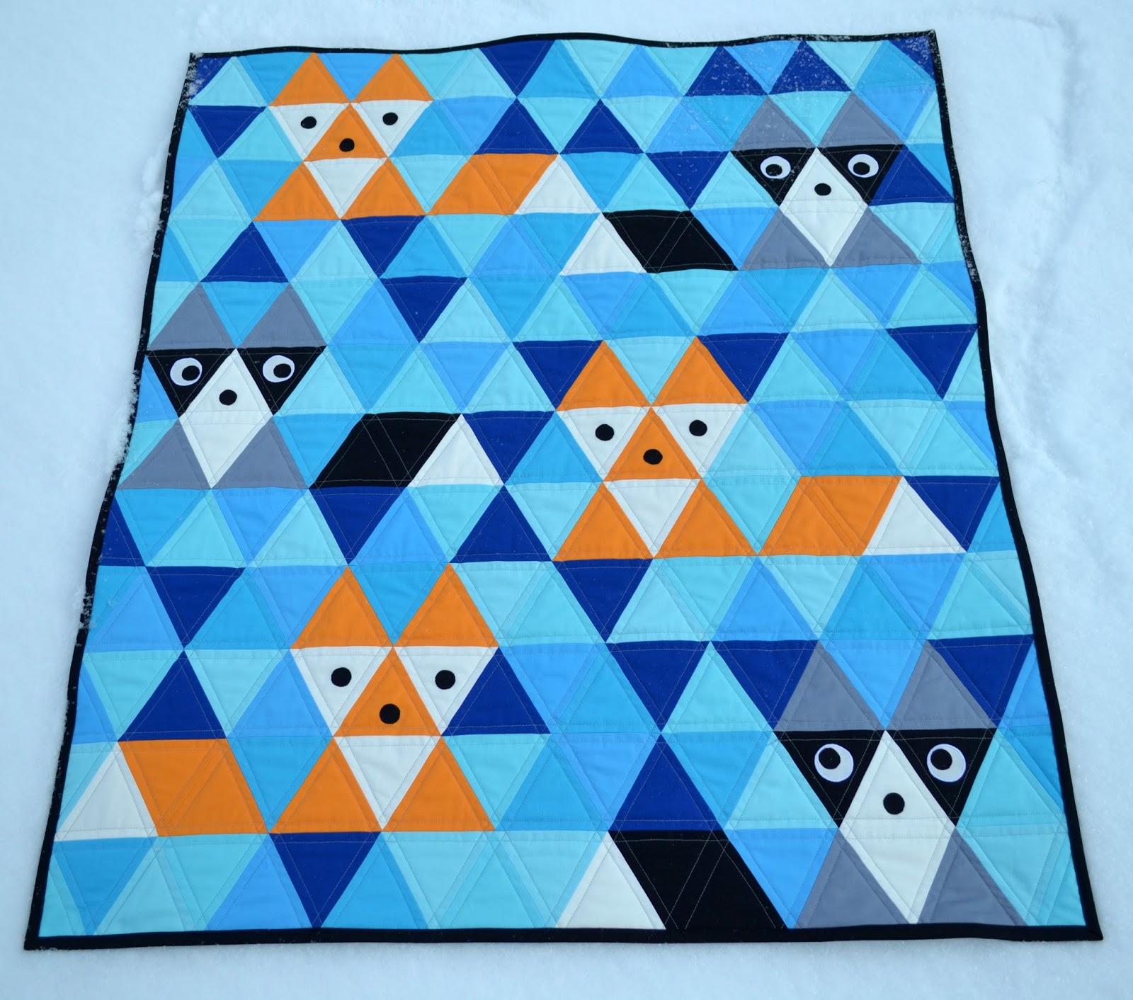 Triangle Quilt Patterns Custom Ideas