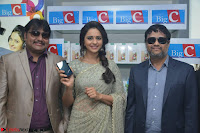 Rakul Preet Singh in a Designer saree at Launch of BIG C Show room at  Kurnool ~ Celebrities Galleries 013.jpg