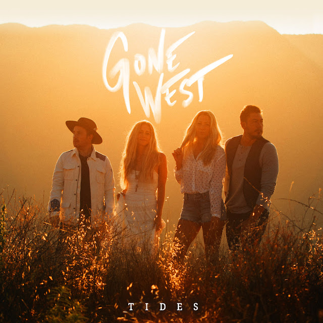 Music Television presents Gone West, consisting of Colbie Caillat, Justin Young, Jason Reeves and Nelly Joy, and the music video for their song titled Gone West, directed by P. Tracy