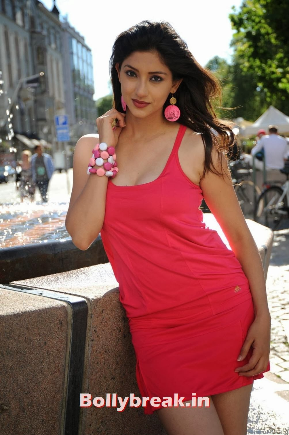 8, Tanvi Vyas Photo Gallery in Red Dress
