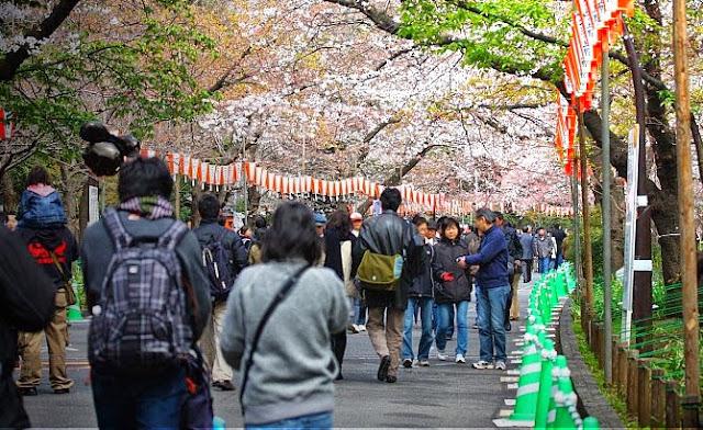 Gambar ilustrasi penduduk Jepang