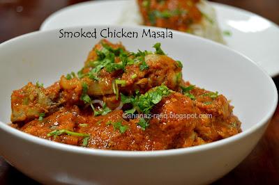 Smoked Chicken Masala