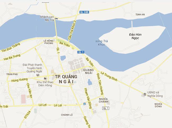 Quang Ngai Vietnam Map.Quang Ngai Tourist Map Quang Ngai Vietnam Tourist Maps