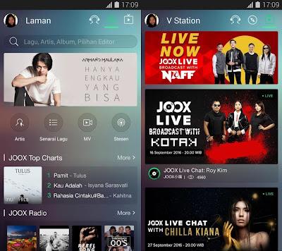 JOOX Music - Live Now! Apk Premium v.3.6.2 Gratis