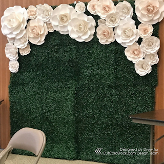 Paper Flower Backdrop - Part 2