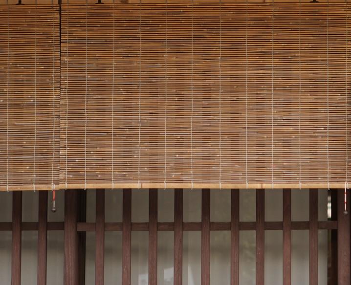 Estores de esterilla o de bamb les burrades - Estores de bambu para exterior ...