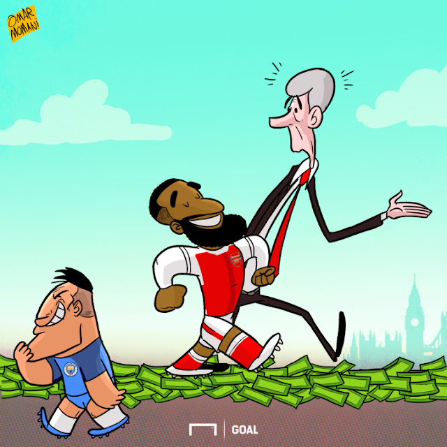 Lacazette cartoon