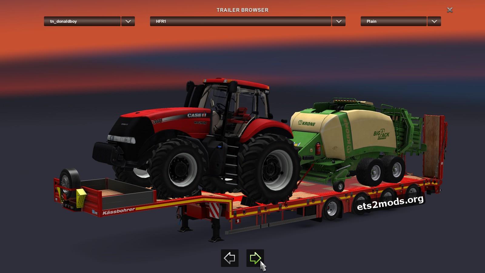 Trailer - Kassbohrer Heavy