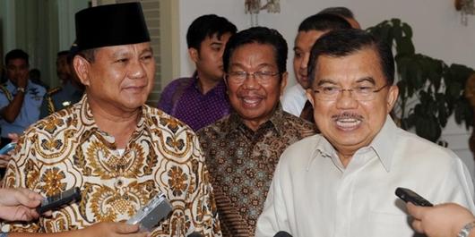 Wapres JK Bantah Prabowo Soal Deindustrialisasi