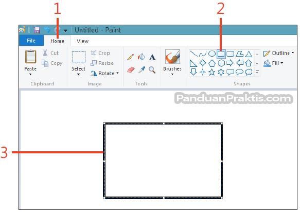 Cara Menyimpan File Menggunakan Paint Di Windows 8.1