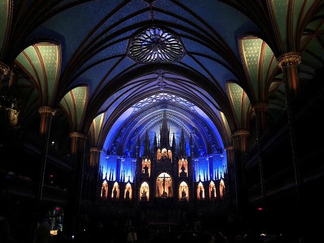 Roteiro 18 dias de trem pelo leste do Canadá - Basílica de Notre Dame, Montreal