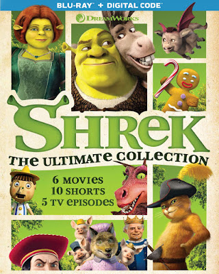 Shrek The Ultimate Collection Bluray