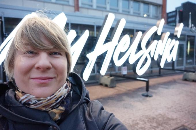 Matkabloggaaja Helsingistä