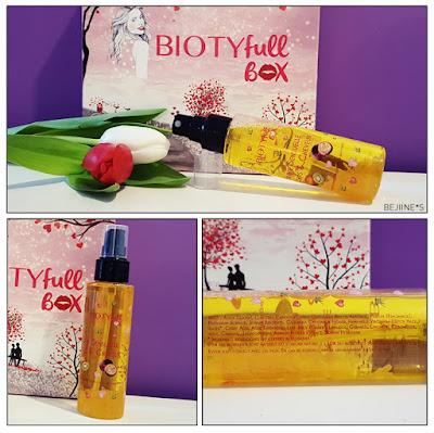 "BIOTYfull Box ""la Bienheureuse"" brume corps"