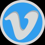 vimeo button outline