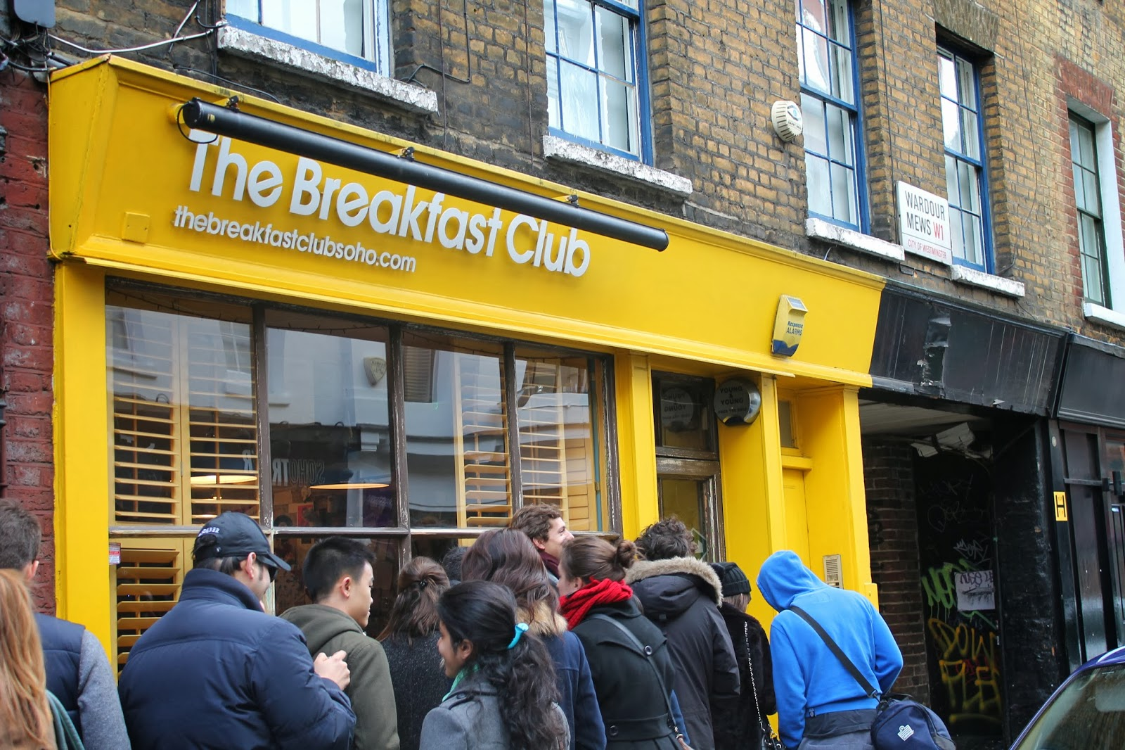 The Breakfast Club Soho Restaurant Review London
