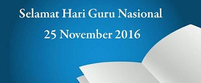 SE Mendikbud tentang Pekan HGN 2016