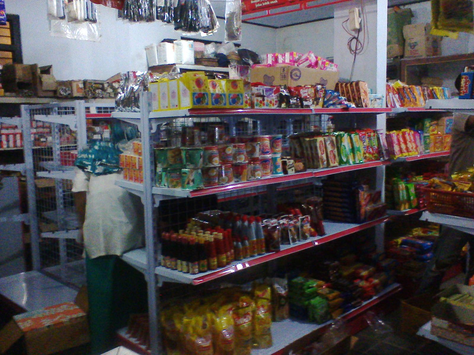 Jual Rak Toko/Minimarket/Swalayan: Pemasangan Rak