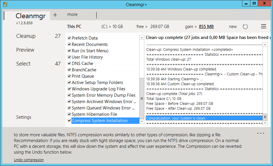 Cleanmgr+ 1.2.6.866