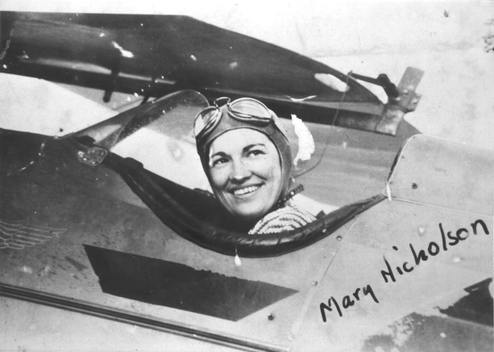 Spartan Stories: Mary Webb Nicholson: First in Flight