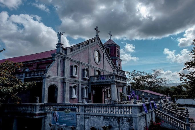 marinduque tourist spot st. joseph church in gasan