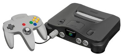 A photo of an N64, because research shows some video games can bring your grades up