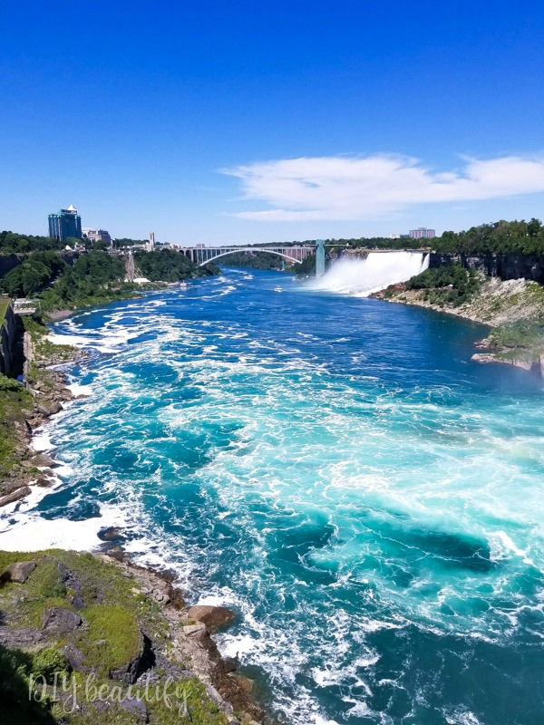 The gorge, Niagara Falls Canada