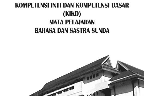 KI KD Bahasa Sunda SD-MI Kurikulum 2013