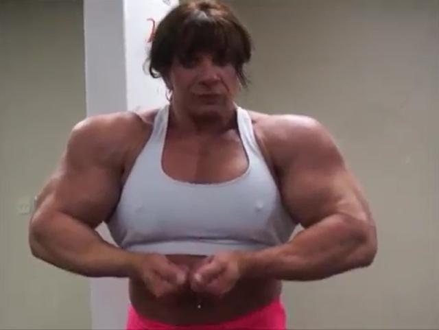 Clip Big Female Biceps