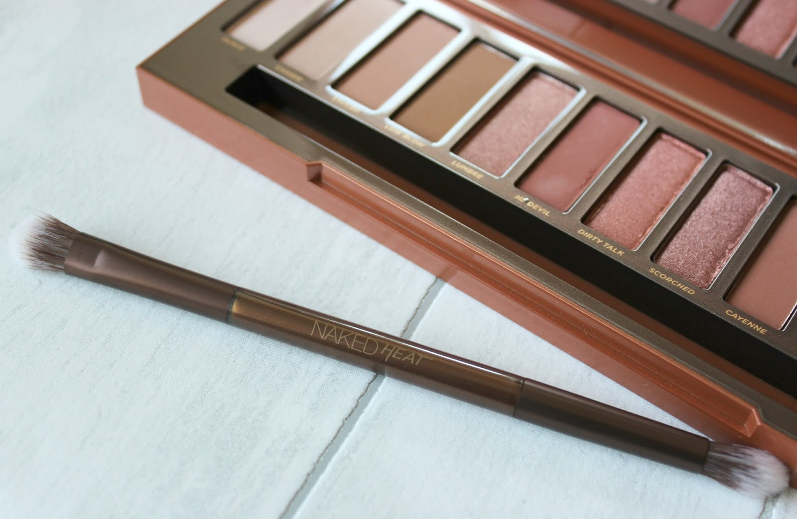REVIEW: Urban Decay Naked Heat Palette - Time To Put My
