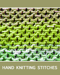 Learn Stamen Slip Stitch Pattern with our easy to follow instructions at HandKnittingStitches.com