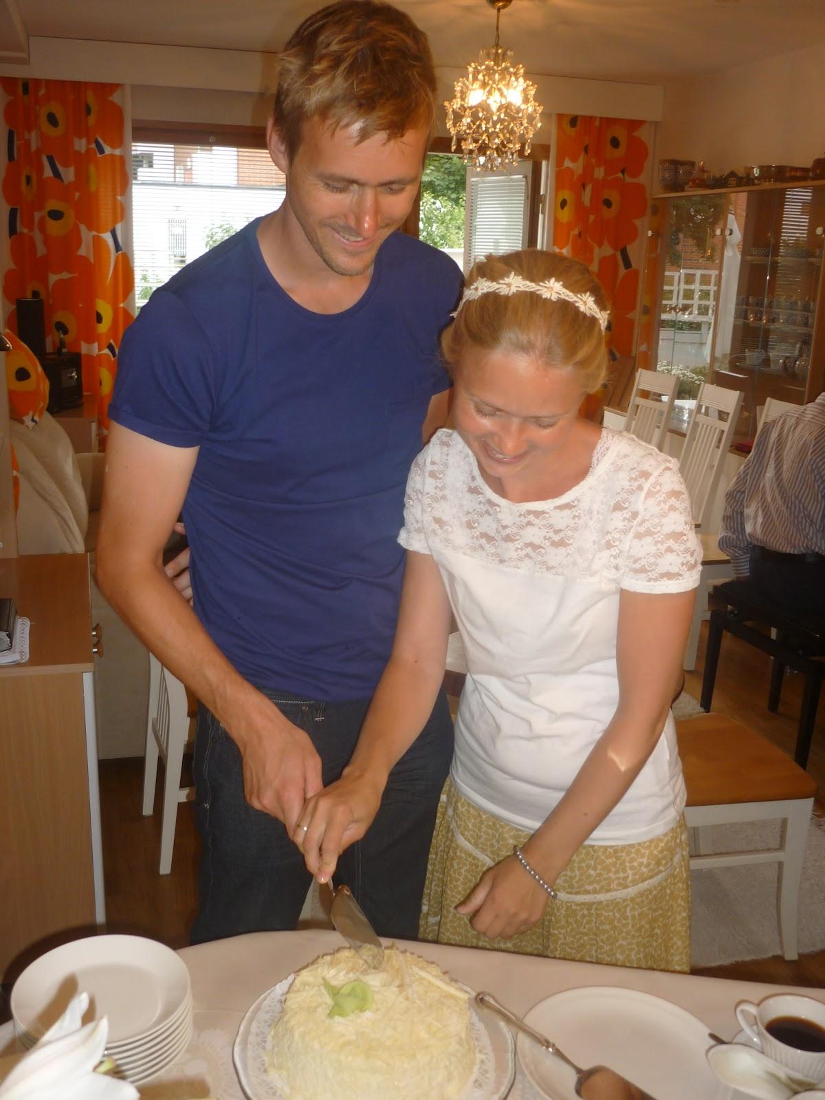 Maria sin Verden: 10 års bryllupsdag i Helsinki