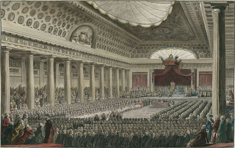 three estates meet at general of 1788