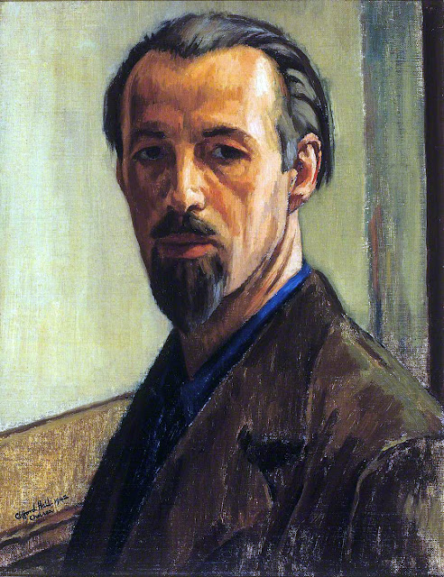 Clifford Hall, Self Portrait, Portraits of Painters, Fine arts, Portraits of painters blog, Paintings of Clifford Hall, Painter Clifford Hall