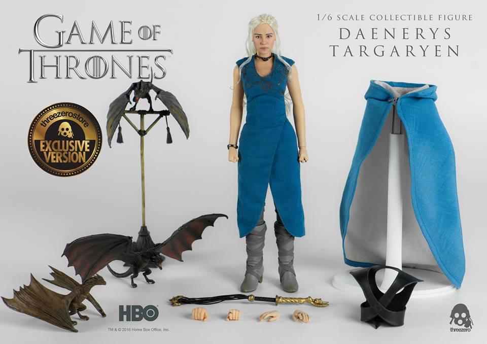 Daenerys Targaryen Game of Thrones 1//12 Scale Custom Playboy full interior
