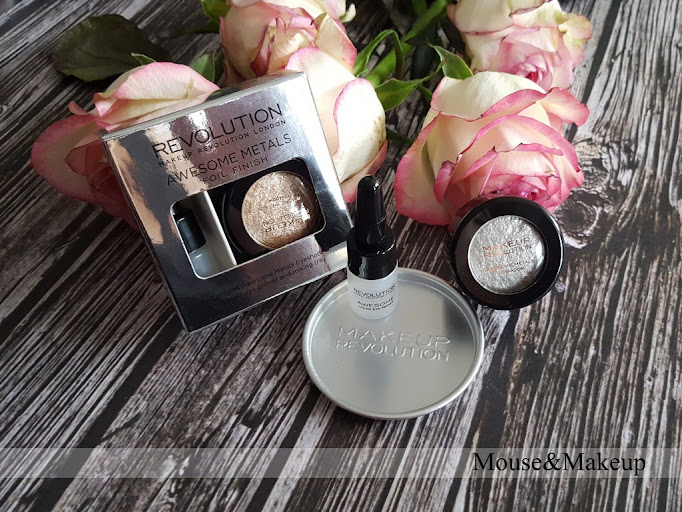 Makeup Revolution Eye Foils Pure Platinum Rose Gold