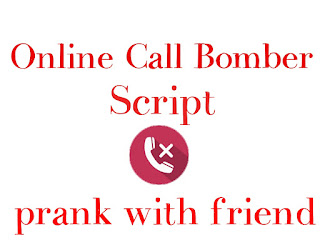 Online missed call bomber Missed call flooder prank with friend