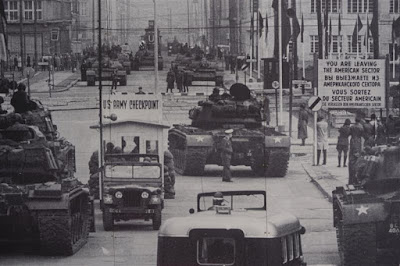 Check point Charlie en Friedrichstrasse