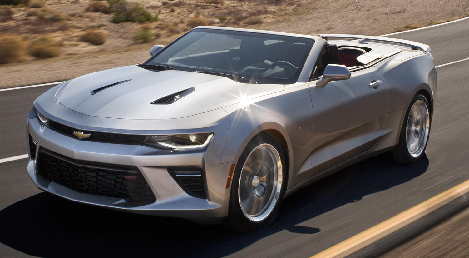 New Chevrolet Camaro Convertible To Receive ZL1 Range-Topper?