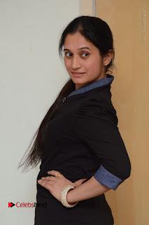 Telugu Actress Priyanka Pallavi Stills in Micro Mini Skirt at Nenosthaa Movie Song Launch at Radio City  0017.JPG