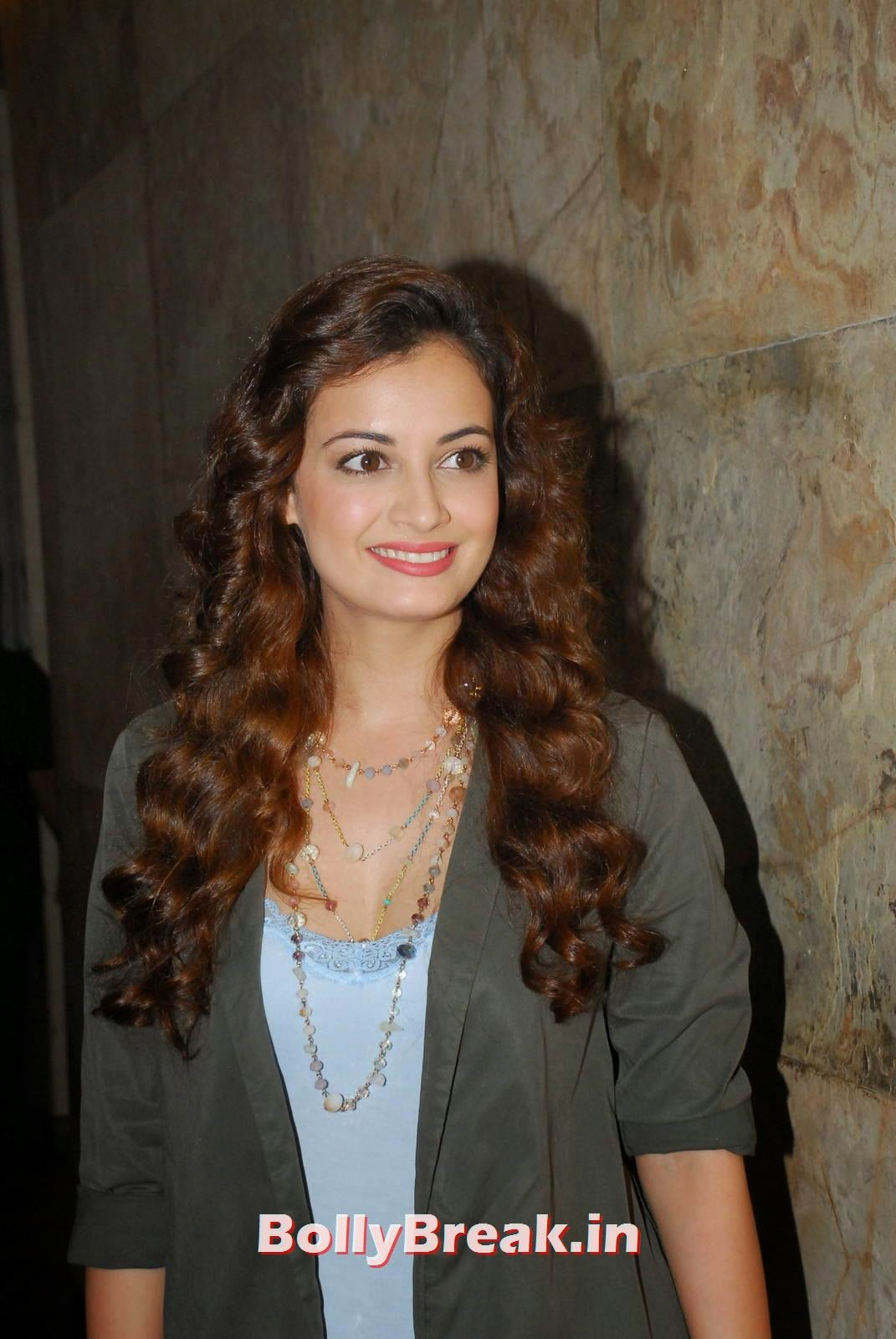 Dia Mirza With Curly Hair - Latest Images - 7 Pics-6563