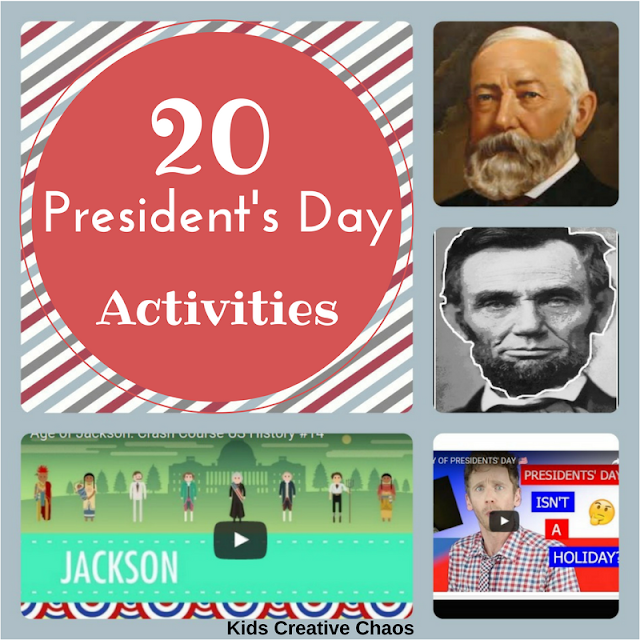 20 President's Day Activities for Elementary and Middle School