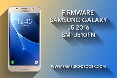 Samsung Firmware J510FN J5 2016